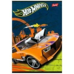 Zeszyt Hot Wheels A5 w kratkę 32 karteki