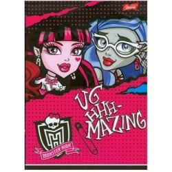 Zeszyt Monster High w trzy linie 16 stron A5