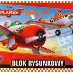 Blok rysunkowy Planes A4 20 kartek Dusty and El Chu
