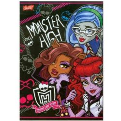 Zeszyt Monster High w linie 16 stron A5
