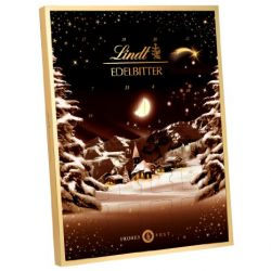 Lindt & Sprüngli Edelbitter Adventskalender, 1er Pack (1 x 250 g)