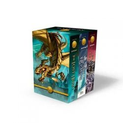 The Heroes of Olympus - 3 x Paperbacks in 1 x Boxed Set by Rick Riordan, 9781484720738.