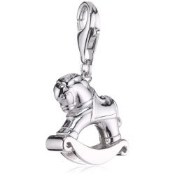 Esprit Damen-Charms rocker 925 Sterlingsilber ESCH90940A000