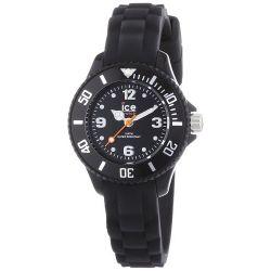 Ice-Watch Unisex-Armbanduhr Analog Quarz Silikon SI.BK.M.S.13