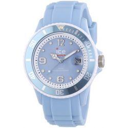 Ice-Watch Unisex-Armbanduhr Limited DE - Sky blue - Unisex Analog Quarz Silikon SI.SKY.U.S.13