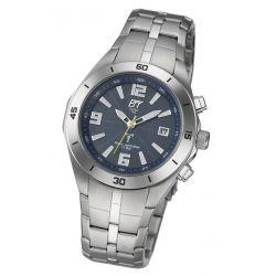 Eco Tech Time Solar Funk Herren-Armbanduhr Solar Drive Funk EGS-11068-31M