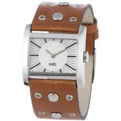 edc Damen-Armbanduhr Brilliant Sparkle - spacy brown A.EE100262004