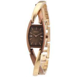DKNY Damen-Armbanduhr Crossover Analog Quarz Edelstahl NY8439