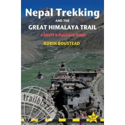 Nepal Trekking & the Great Himalaya Trail, A route and planning guide by Robin Boustead, 9781905864607.
