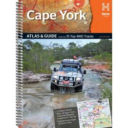 Hema : Cape York Atlas & Guide (4th Edition), Featuring 15 Top 4WD Tracks by Hema Maps Australia, 9781865007182.