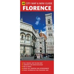 AA City Map & Mini Guide Florence by AA Publishing, 9780749552374.