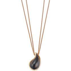 Esprit Damen-Halskette Edelstahl drip drop Ca. 40 + 3 cm ESNL11820D400