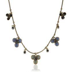 Pilgrim Jewelry Damen-Halsketten mit Anhänger aus der Serie Mirage vergoldet multi 38.0 cm 161232811