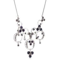 Pilgrim Jewelry Damen-Halsketten mit Anhänger aus der Serie Mirage versilbert mix blau 38.0 cm 161236231