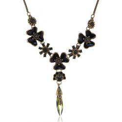 Pilgrim Jewelry Damen-Halskette mit Anhänger aus der Serie Bohemian beauty vergoldet multi 38.0 cm 171242821