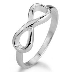 MunkiMix 925 Sterling Silber 925 Ring Silber Unendlichkeit Symbol 8 Ring Damen