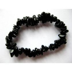 Armband Splitterarmband Turmalin schwarz Schörl