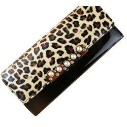 Ghope Leopard Wallet Fräulein Han Ban Long Wallet Lange Ausführung Lady PU Leder Farbe Tasche 2014 neue PU Leder Brief