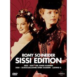 Romy Schneider - Sissi Edition (Sissi / Die junge Kaiserin / Schicksalsjahre einer Kaiserin / Ludwig II.) [5 DVDs]