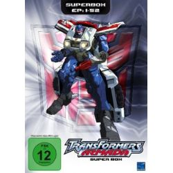 Transformers: Armada - Superbox (Episoden 01-52) [4 DVDs]