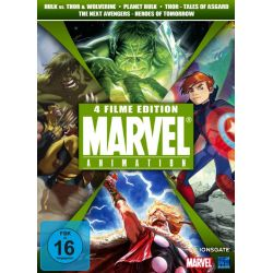 Marvel Animation Vol. 2 (Hulk vs. Thor & Wolverine, The Next Avengers, Planet Hulk & Thor - Tales of Asgard) [4 DVDs]