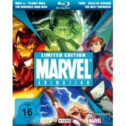 Marvel Animation (Hulk vs.Thor & Wolverine, The Invincible Iron Man, The Next Avengers, Planet Hulk & Thor - Tales of Asgard) [Blu-ray] [Limited Collector's Edition] [Limited Edition]