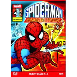 Spider-Man & His Amazing Friends Complete Season 2 & 3 [2 DVDs] [UK Import]