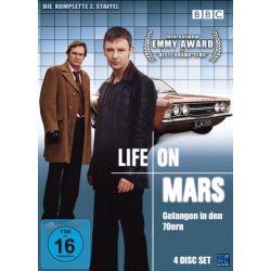 Life on Mars: Gefangen in den 70ern - Season 2, Folgen 01-08 (4 Disc Set)