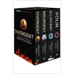 Divergent Series Box Set (Books 1-4 Plus World of Divergent) by Veronica Roth, 9780007591374.