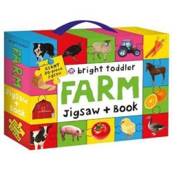 Bright Toddler Jigsaw and Book Set, Farm by Bright Toddler, 9781783411504.