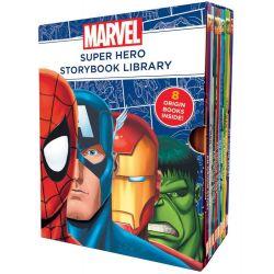 Marvel Super Hero Storybook Library, 8 Origin Books Inside!, 9781743626795.