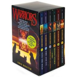 Warriors Box Set, Volumes 1 to 6 by Erin Hunter, 9780061477935.