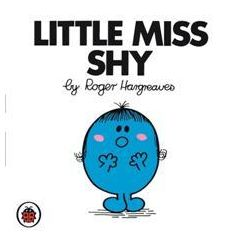Little Miss Shy, Little Miss Series by Roger Hargreaves, 9781846462429.