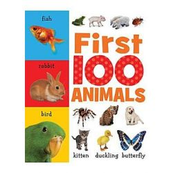 First 100 Animals, First 100 by Helen Parker, 9781848793071.