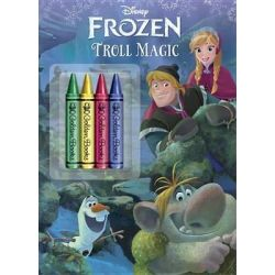 Frozen, Troll Magic by Courtney Carbone, 9780736430623.