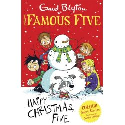 Famous Five Colour Reads, Happy Christmas, Five! by Enid Blyton, 9781444916270.