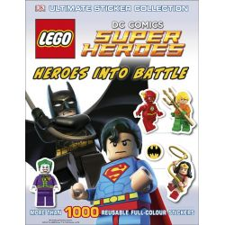 LEGO DC Super Heroes : Heroes into Battle : Ultimate Sticker Collection, More Than 1000 Reusable Full-Colour Stickers by Dorling Kindersley, 9780241182895.