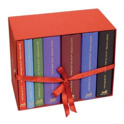 The Harry Potter Special Edition Boxed Set, All 7 Hardcover Books in Clothbound Slipcased Box by J. K. Rowling, 9780747593683.