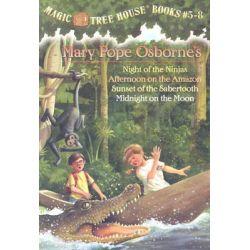 Magic Tree House Boxed Set, Magic Tree House Series : Book 5 - 8 by Mary Pope Osborne, 9780375822667.