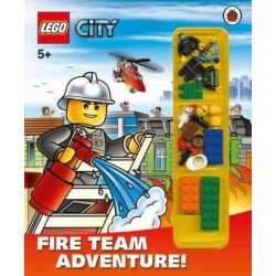 LEGO City : Fire Team Adventure , Storybook with Lego Minifigures and Accessories by Ladybird, 9781409309321.