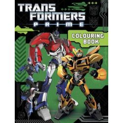 Transformers Prime Colouring Book by Transformers, 9781742978062.