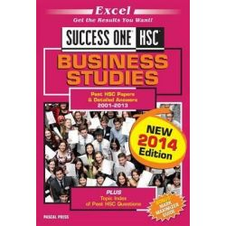 Excel success one HSC Business studies, 2014 Edition by Excel, 9781741254686.