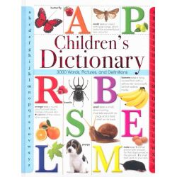 Children's Dictionary, 3000 words, pictures and definitions by Martin Manser, 9781849992121.