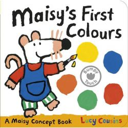 Maisy's First Colours, A Maisy Concept Book by Lucy Cousins, 9781406344264.
