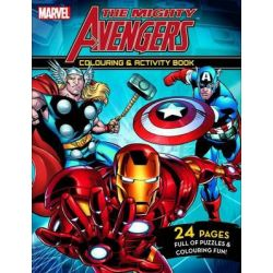The Mighty Avengers - Colouring and Activity Book, Colouring and Activity Book by Marvel Comics Staff, 9781742832876.