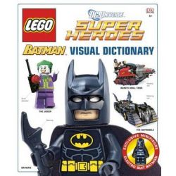 LEGO Batman : Visual Dictionary, With Electro Suit Batman Minifigure by DK Publishing, 9780756697877.