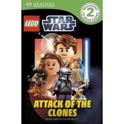 Attack of the Clones, Lego Star Wars: Attack of the Clones by Elizabeth Dowsett, 9780756686956.