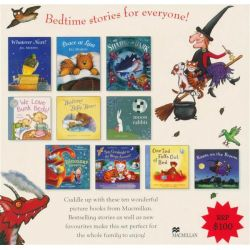 Bedtime Stories , 10 x Paperback Books in a Slipcase by Macmillan, 9781447204671.