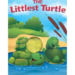 The Littlest Turtle, Finger Puppet Book by Five Mile Press, 9781742485935.