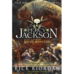 Percy Jackson and the Sea of Monsters, The Graphic Novel by Rick Riordan, 9780141338255.